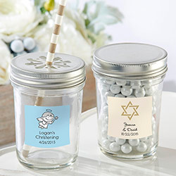 Personalized Mason Jar - Religious (Set of 12)