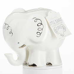 Little Peanut Elephant Ceramic Bank